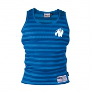 Gorilla Wear Stripe Stretch Tank Top Royal Blue - XXL/XXXL