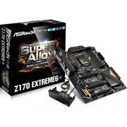 ASRock Z170 Extreme 6+ Intel 1151 Scheda Madre, Nero