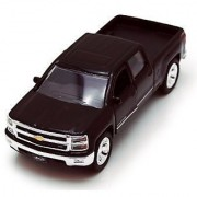 Chevy Silverado Pickup Truck Black - Jada Toys Just Trucks 97017 - 1/32 scale Diecast Model Toy Car