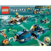 LEGO 8636 Mission 7: Deep Sea Quest (Lego agent deep sea operations) (japan import)