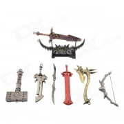 Weaponry Models (8 in a set)