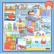 Otter House 1000 Piece Puzzle - Seaside Fun