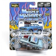 1964 Ford Thunderbolt (Lucas Oil) The Original Muscle Machines Series 12 Maisto 1:64 Scale Die-Cast Vehicle Collection