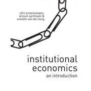 Institutional Economics by John Groenewegen