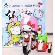 Tokidoki x Hello Kitty 2.5-inch Vinyl Figure - Motorcycle Kitty with Bastardino