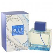 Antonio Banderas Splash Blue Seduction Eau De Toilette Spray 3.4 oz / 100 mL Fragrances 501674