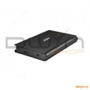 HDD Enclosure 2.5' HDD S-ATA to USB 3.0, Black, 'HandyBook SATA'