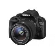 Canon EOS 100D Reflex Fotocamera Digitale, 18 Megapixel + EF-S IS STM Obiettivo 18-55 mm, Nero