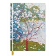 Wilhelm List: Magnolia Trees (Blank Sketch Book) by Flame Tree Studio
