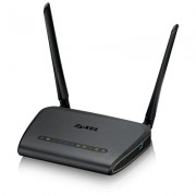 ZyXEL NBG6617 Simultaneous Dual-Band MU-MIMO Wireless AC1300 Media Router, 802.11ac (400Mbps/2.4GHz+867Mbps/5GHz), back compatibility with 802.11b/g/n/a, 4xGiga LAN, 1xGiga WAN, 1xUSB 3.0, SPI firewal