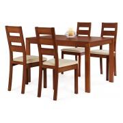 Jedálenský stôl + 4 stoličky BT-6745 TR3 + BC-2603 TR3
