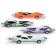 Littfun Racing Car Ballpoint Pens Super Fashion Cool Toys Novelty Gift Pen (Set of 4)