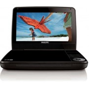 "DVD Player Portabil Philips PD9010, LCD TFT 9"", USB (Negru)"