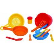 Gowi Toys 454-71 Set Da Cucina Vienna 15Pz