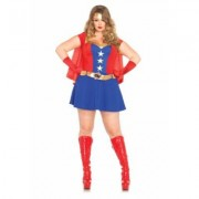 Plus Size Comic Book Girl Costume