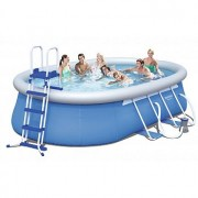 Bazén oválný 549 x 366 x 122 cm TV Products
