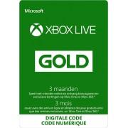 Xbox Live Gold-lidmaatschap voor 3 maanden (digitale code)