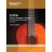 Guitar & Plectrum Guitar Scales & Exercises Initial-Grade 5 from 2016 by Trinity College London
