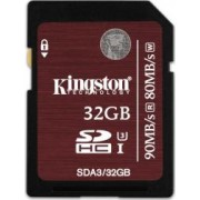 Card de Memorie Kingston SDHC UHS-I U3 32GB Clasa 10