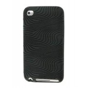 iPod Touch 4 Silicone Case - Apple Soft Cover (Black)