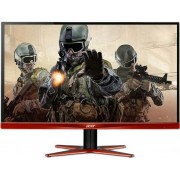 "Monitor Gaming LED Acer 27"" XG270HUOMIDPX, WQHD, HDMI, DisplayPort, 1ms, Boxe (Negru/Rosu) + Bitdefender Antivirus Plus 2017, 1 PC, 1 an, Licenta noua, Scratch Card"