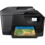 Multifunctional HP Officejet Pro 8710 e-All-in-One, inkjet, Fax, A4, 22 ppm, Duplex, ADF, Retea, Wireless + Cablu OEM imprimanta USB 2.0, 1.8 m