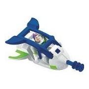 Imaginext - Figura de Disney/Pixar Toy Story 3 Buzz Lightyear con nave espacial