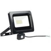 Luminea Projecteur étanche à LED 50 W / 4000 lm / blanc chaud avec capteur