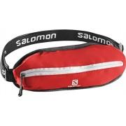 Salomon Agile Single Belt Bright Red - Cintura, Unisex, Rosso, NS