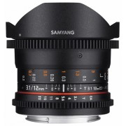 Samyang 12mm T3.1 VDSLR ED AS NCS Fish-eye (Canon M)