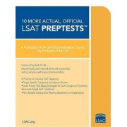 10 More Actual, Official LSAT PrepTests by Law School Admission Council