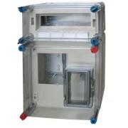 Hensel Basic 300x450x185mm, 1 fázisú mérő + elmenő, IP65 (HB1012)
