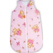 Sac de dormit bebe ursuletul cu miere roz