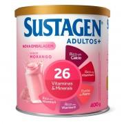 Sustagen Nutrição e Energia Sabor Morango 400g