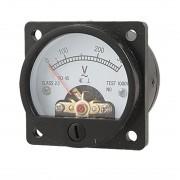 Kruhový analógový voltmeter 0-300V na striedavé napätie