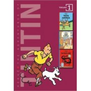 Adventures of Tintin 3 Complete Adventures in 1 Volume: WITH Cigars of the Pharaoh AND The Blue Lotus by Herge
