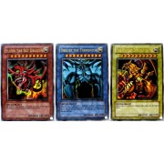 Sky Dragon GBI-001UR of Yu-Gi-Oh [English version] Osiris, Giant soldier GBI-002UR of Obelisk, wing God Dragon GBI-003UR of error (Ultra Rare) 3 pieces set (japan import)
