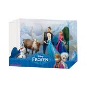 Set figurine Frozen Deluxe - Elsa, Olaf, Sven, Kristoff, Anna