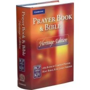 Heritage Edition Prayer Book and Bible CPKJ421 by Cambridge Bibles