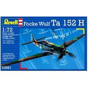 RCS Toys Revell 3981 1:72 Focke Wulf Ta H Assembly Model Kit
