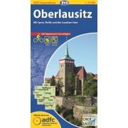 Fietskaart ADFC Regionalkarte Oberlausitz | BVA