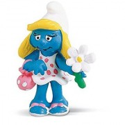 Schleich North America Smurfette With Flower