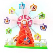Sound Control - Clap Your Hands to Start Rotation and Control Music-4 Different Children Musical Tunes-Colorful Flashin
