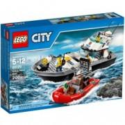 LEGO® City Nava de patrulare a poliției 60129