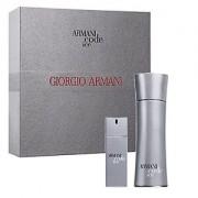 Giorgio Armani - Code Ice Eau de Toilette Set pentru barbati