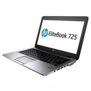 """HP EliteBook 725 G2, A10-7350B, 12.5"""" HD, 4GB, 500GB 7.2, a/b/g/n, BT, FpR, LL batt, Win 10 Pro downgraded"""