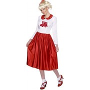 Smiffys - Costume Femme Grease Taille Unique