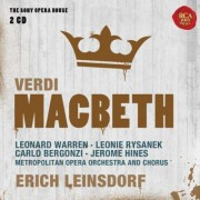 Erich Leinsdorf - Macbeth - Sony Opera House (0886978557629) (2 CD)