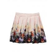 Molo Blaine A-lijn rok met plooien en bloemenprint