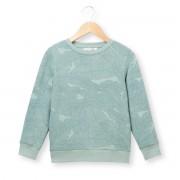 Sweater met bladerenprint 3-12 jaar